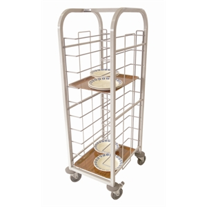 Tray Clearing Trolley 10 cap