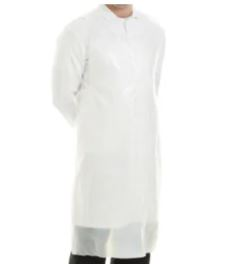 Disposable Polythene Aprons White