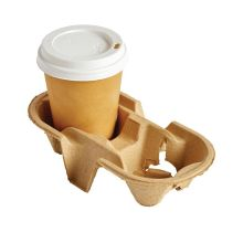 Disposable Cup Carry Tray 2