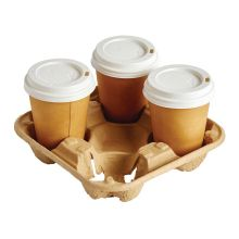 Disposable Cup Carry Tray
